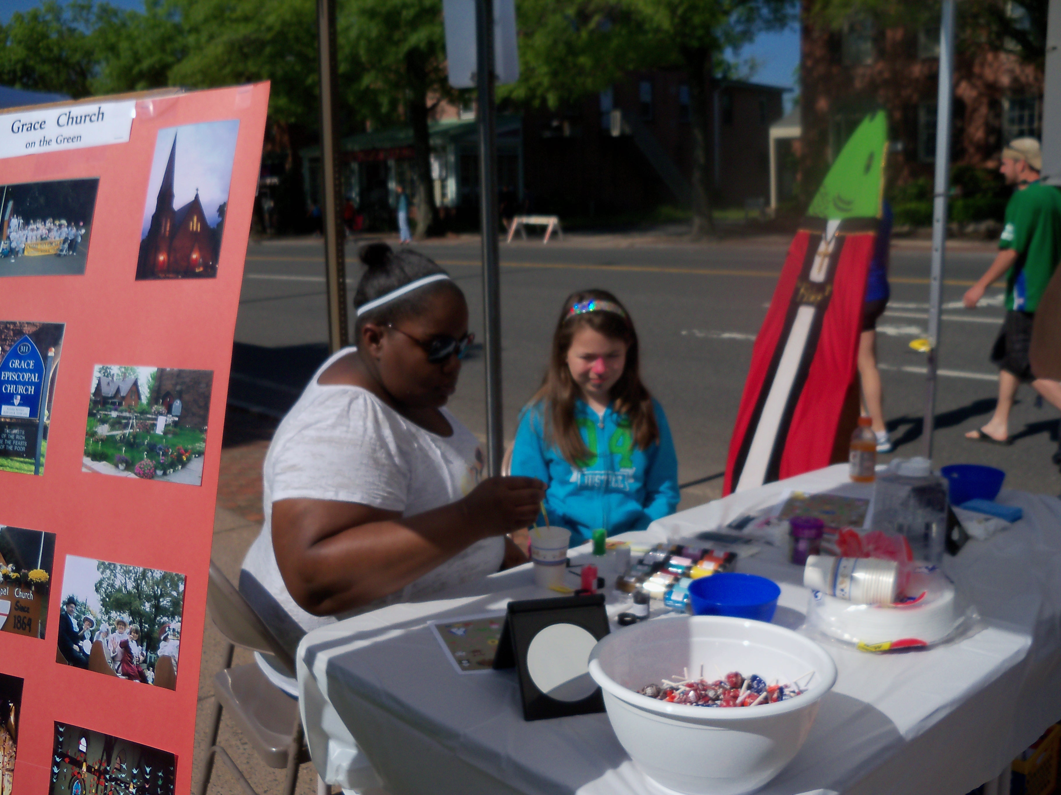 Face Painting at Shad Derby