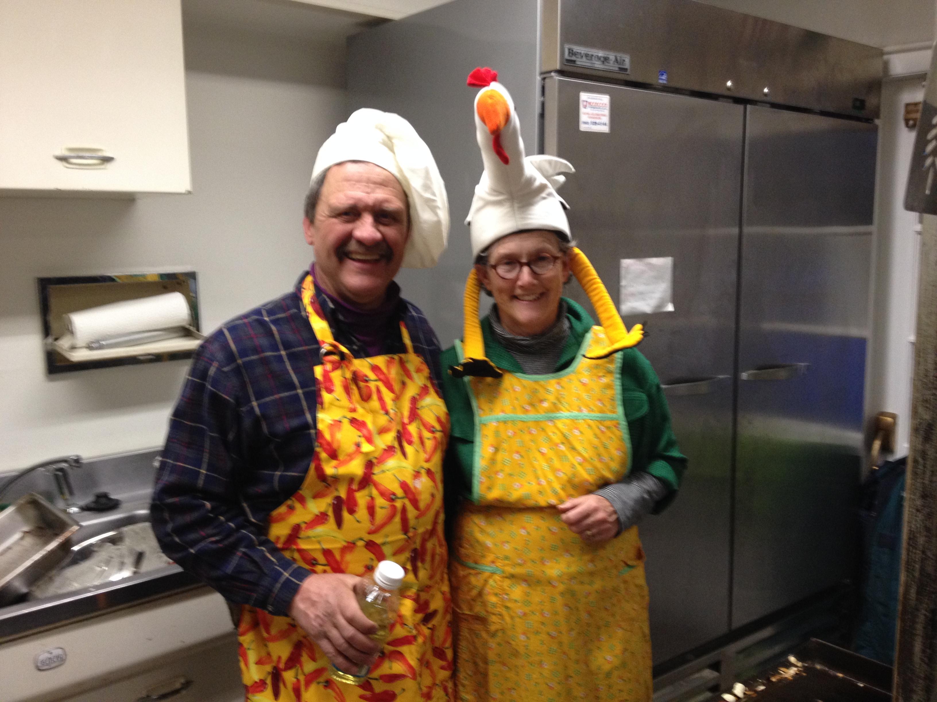 Shrove Tuesday cooks!